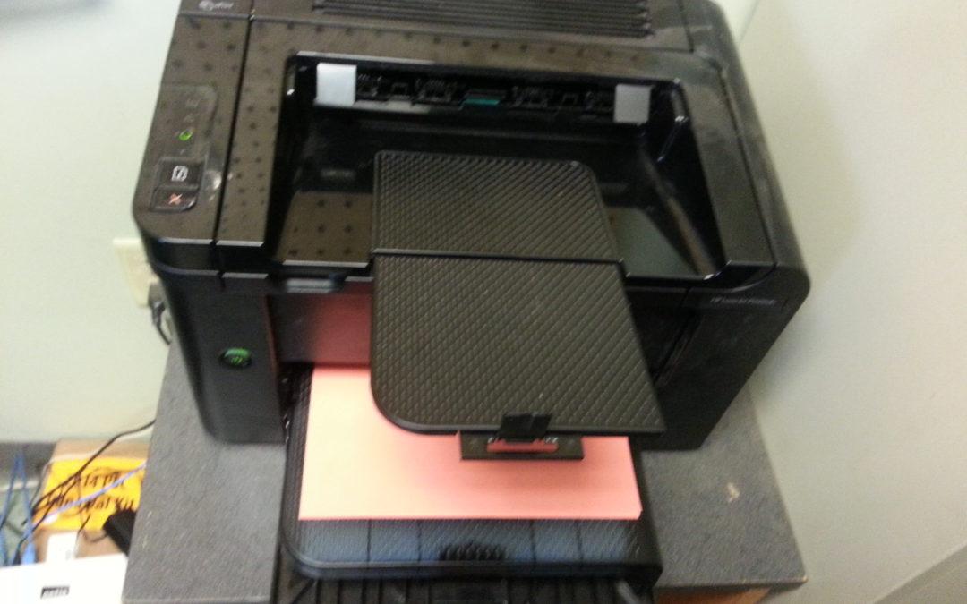 Oh, you have an old printer. Fort Wayne Computer Repair