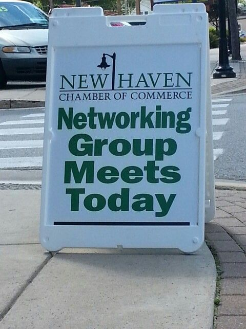 We started up the New Haven Chamber Networking Group today
