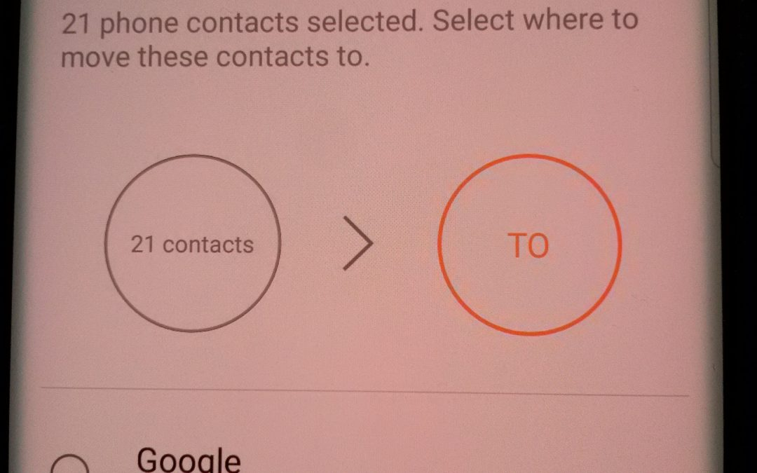 Where are my latest Google contacts? Fort Wayne computer repair