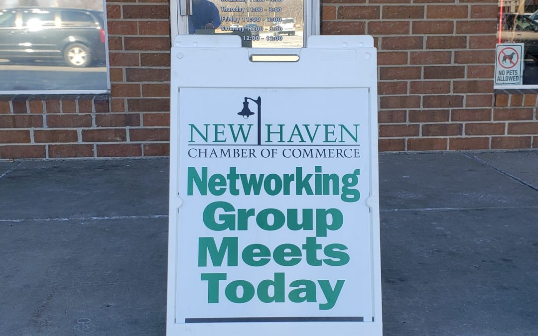 Today at the New Haven Chamber Networking Group