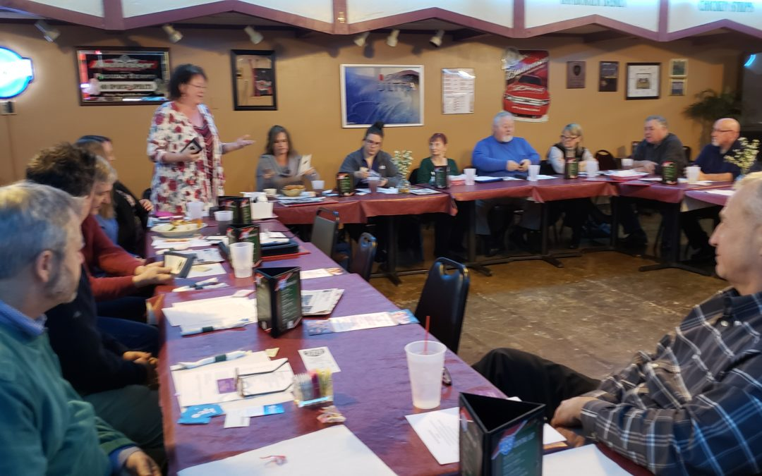 I was not expecting this! New Haven(IN) Chamber Networking Group