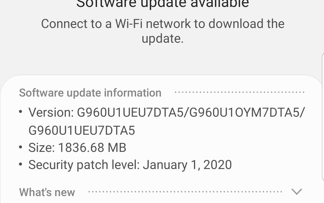 Your smartphone has updates, too. Fort Wayne computer repair