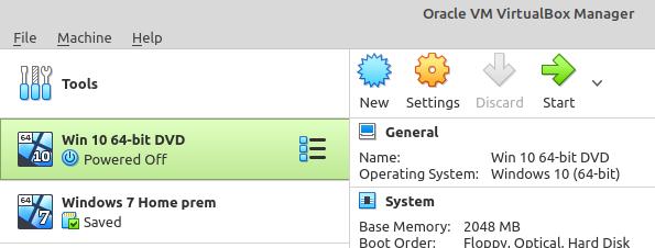 Running Windows 10 inside of Linux.